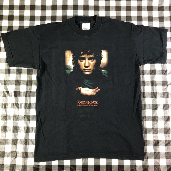 Screen Stars Other - Lord Of The Rings Fellowship Of The Ring Movie Tee